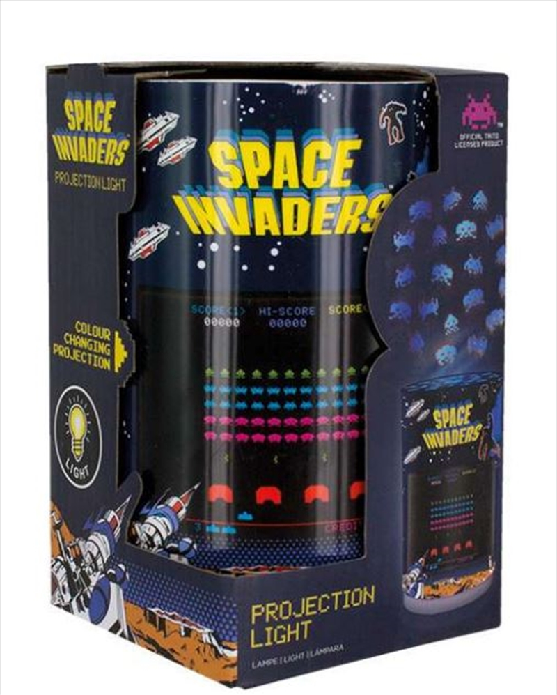 Space Invaders Projection Light | Accessories