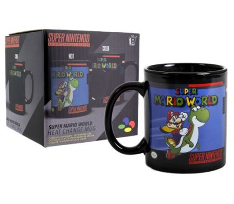 Super Mario World - Heat Change Mug | Merchandise