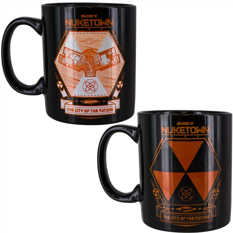 Call Of Duty - Nuketown Heat Change Mug   Merchandise