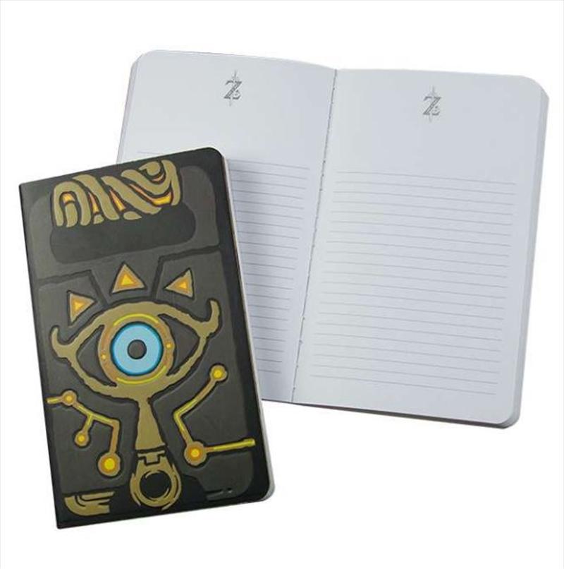 Legend Of Zelda Sheikah Slate Notebook   Merchandise