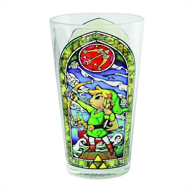 Legend Of Zelda Links Glass | Merchandise