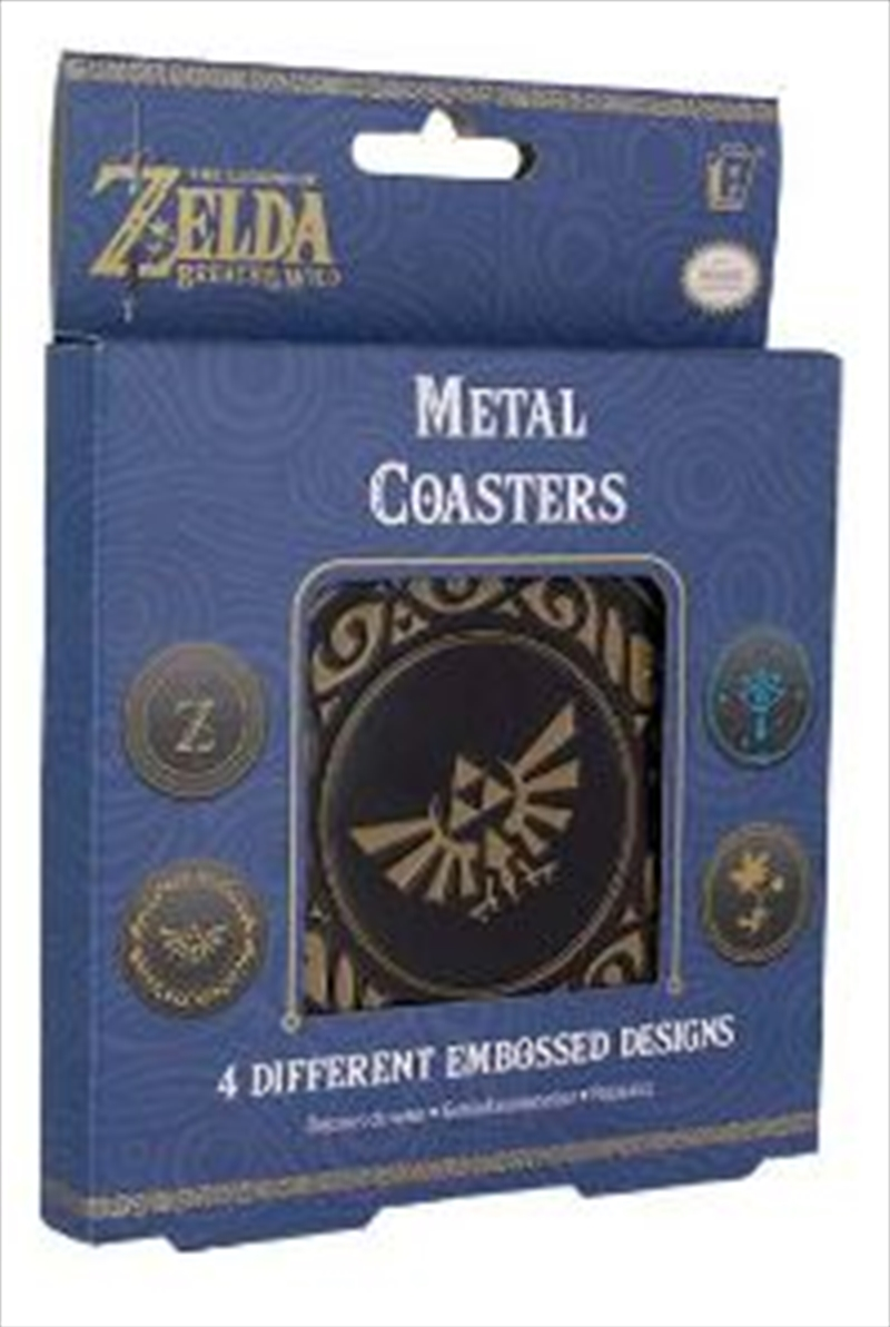 Legend Of Zelda Metal Coasters | Merchandise