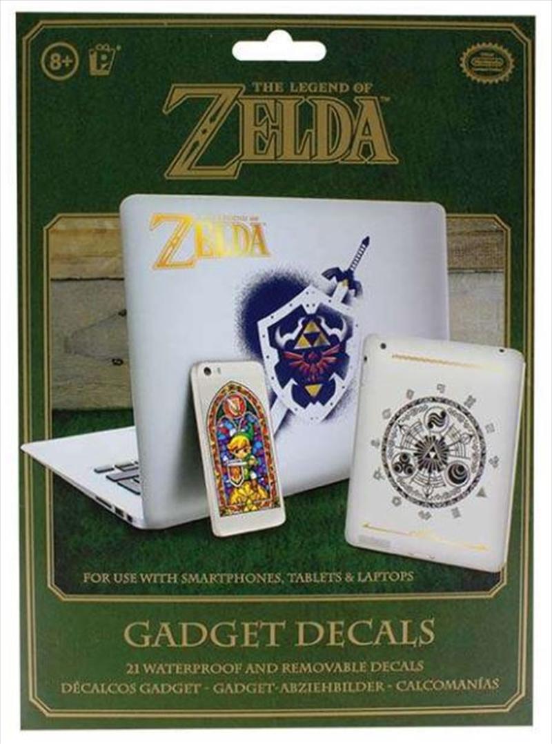 Legend Of Zelda Hyrule Gadget Decals | Merchandise