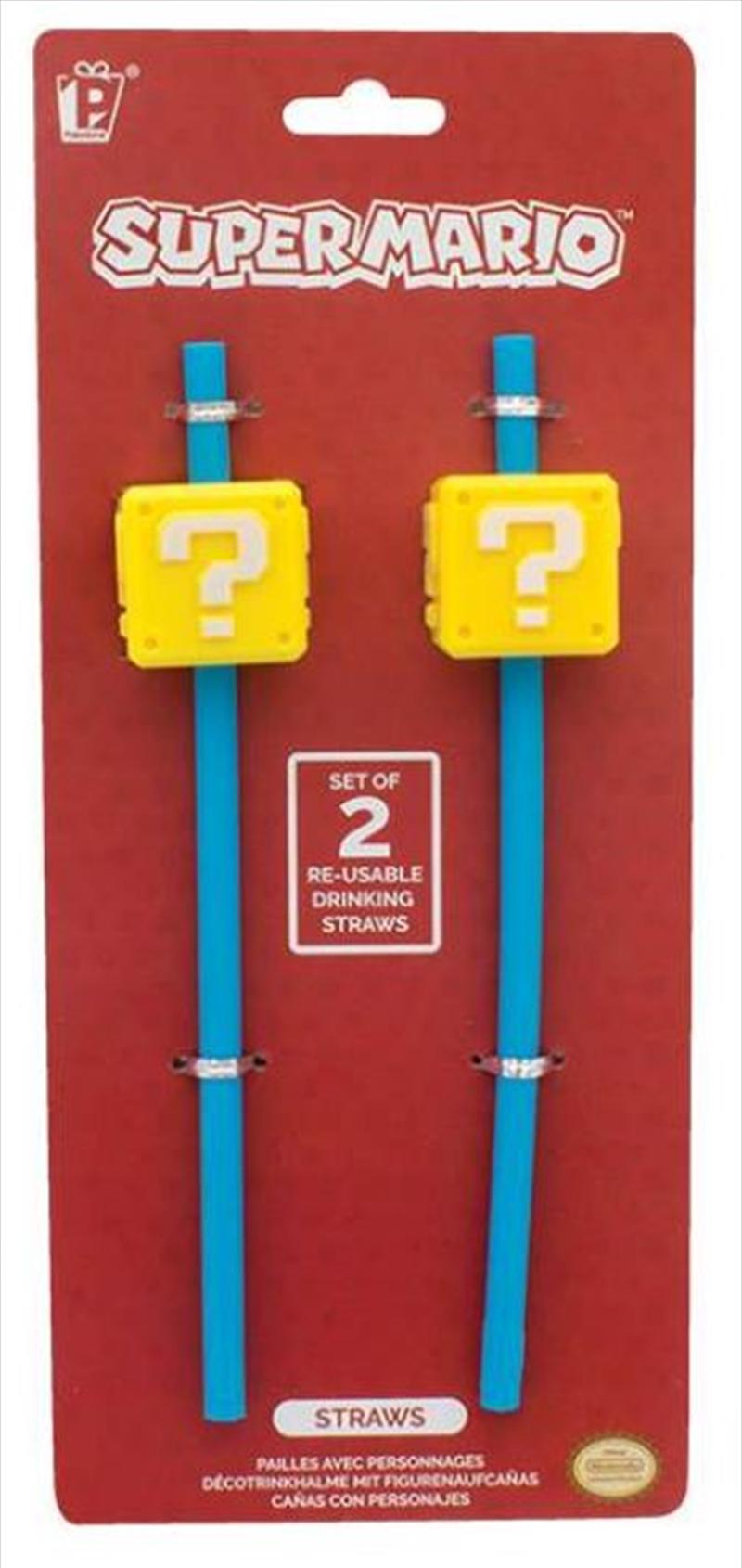 Super Mario Straws | Homewares