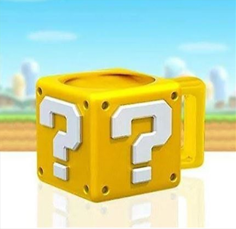Super Mario Question Block Mug | Merchandise