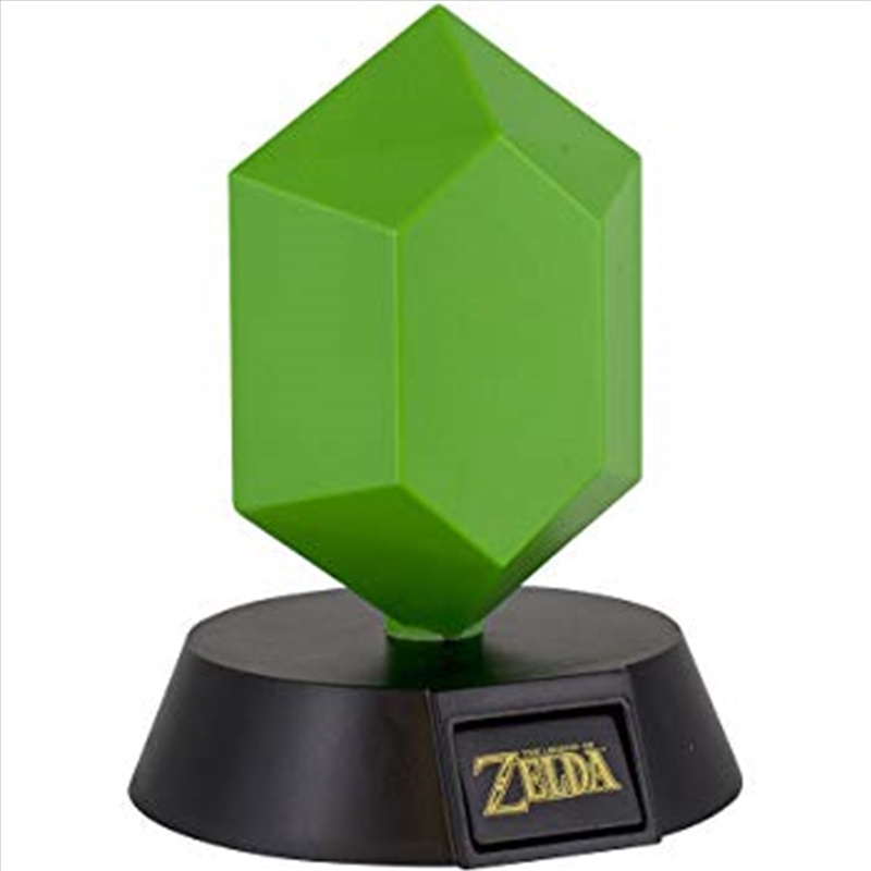 Legend Of Zelda Green Rupee 3D Light | Accessories
