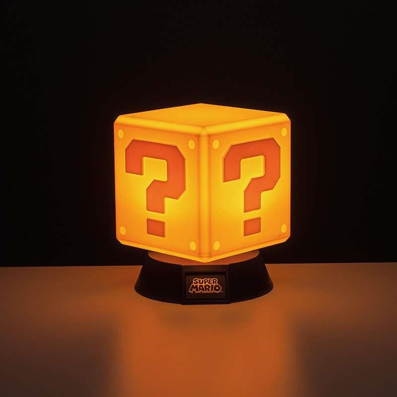 Super Mario Question Block 3D Light   Accessories