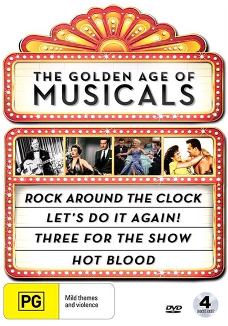 Golden Age Of Musicals Collection | DVD
