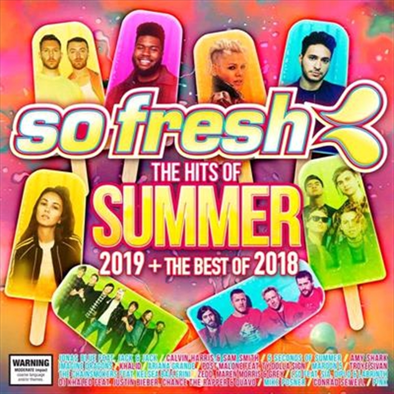 So Fresh - Summer 2019 + Best Of 2018 | CD