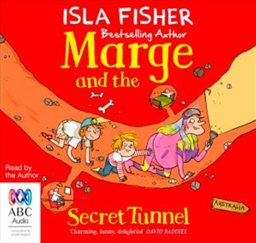 Marge And The Secret Tunnel | Audio Book