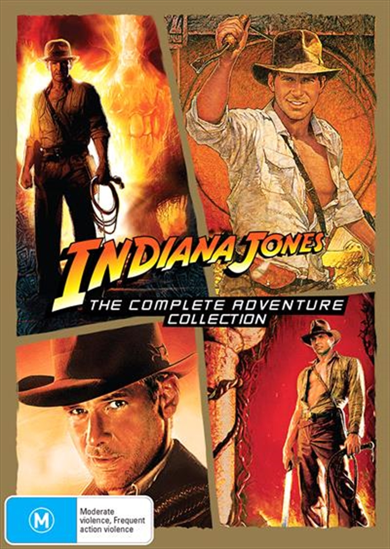 Indiana Jones Franchise Pack | DVD