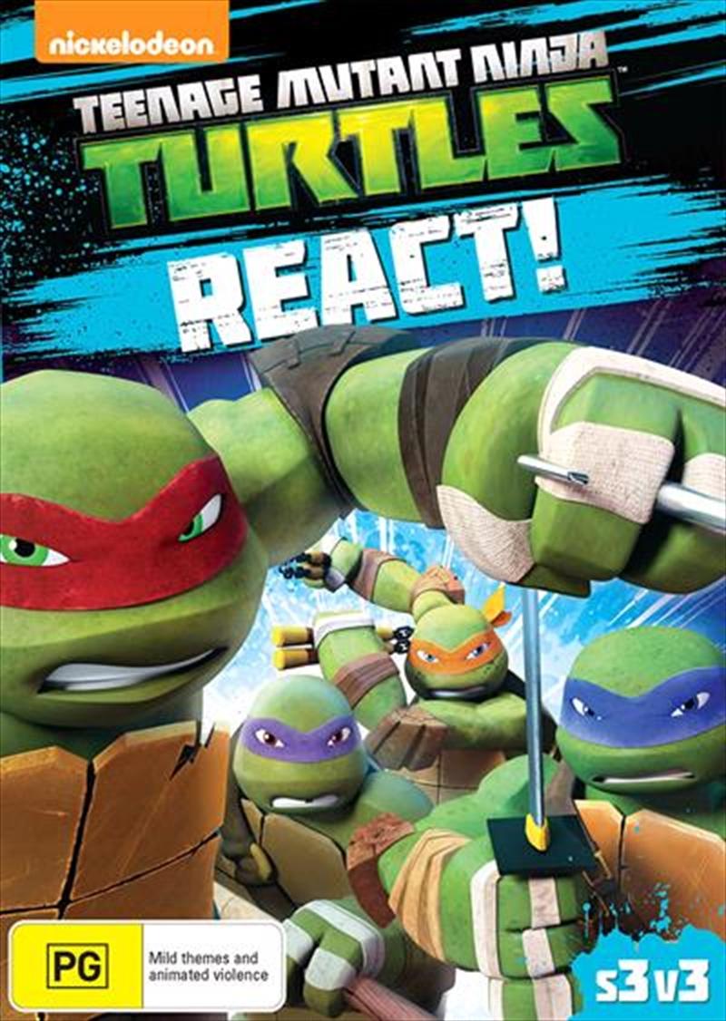 Teenage Mutant Ninja Turtles - React | DVD