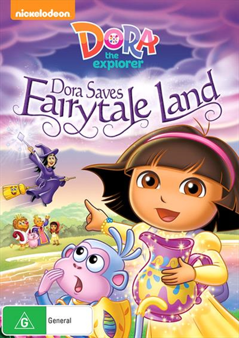 Dora The Explorer - Dora Saves Fairytale Land | DVD