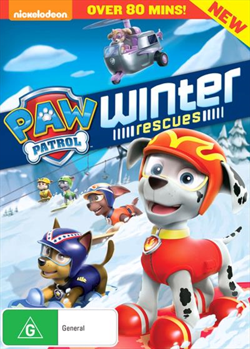 Paw Patrol - Winter Rescues | DVD