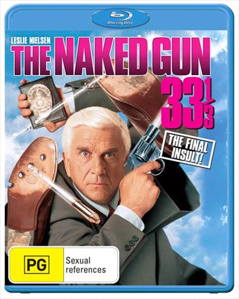 Naked Gun 33 1/3 - The Final Insult   Blu-ray
