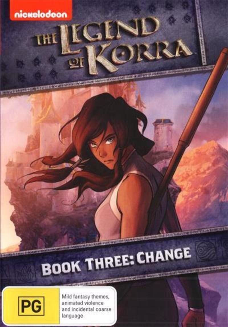 Legend Of Korra - Change - Book 3, The | DVD