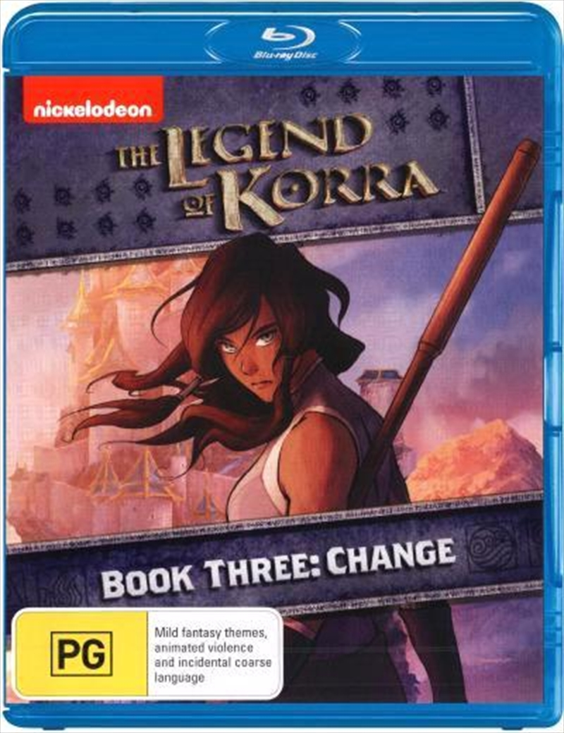 Legend Of Korra - Change - Book 3, The | Blu-ray