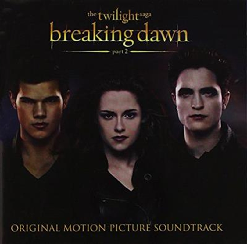 Twilight Saga-breaking Dawn #2 | CD