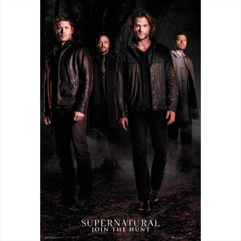 Supernatural Season 12 Key Art | Merchandise