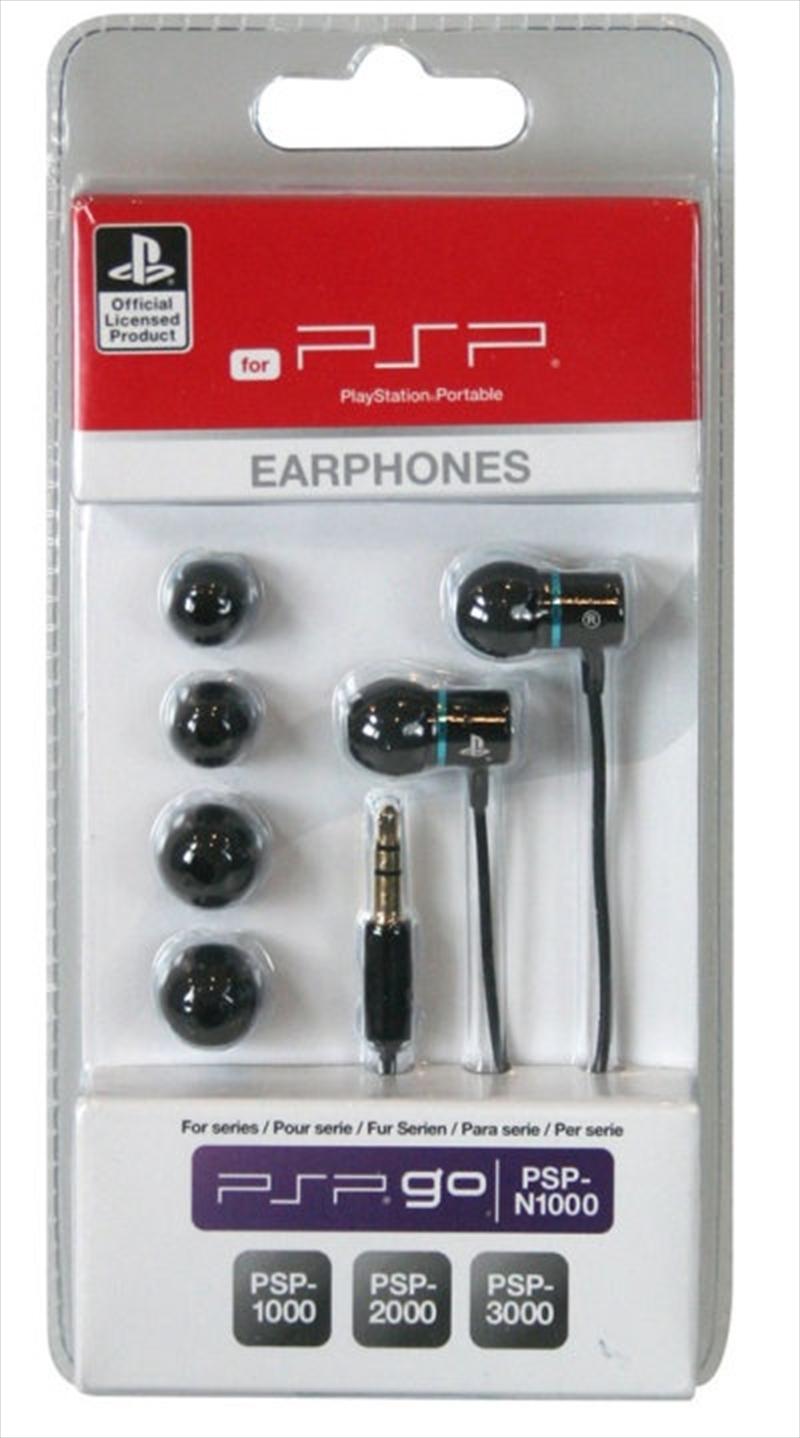 Sony Licenced Earphones - Black & Blue | PSP