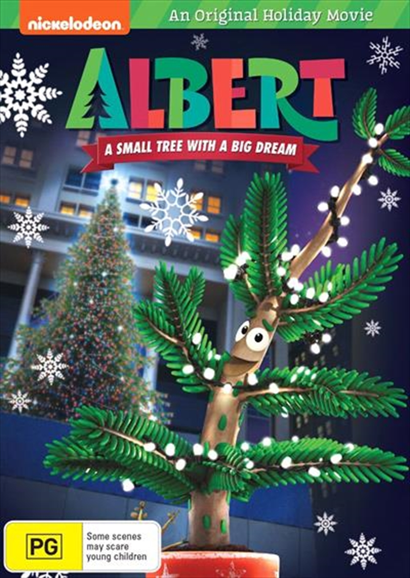 Albert - A Small Tree With A Big Dream | DVD