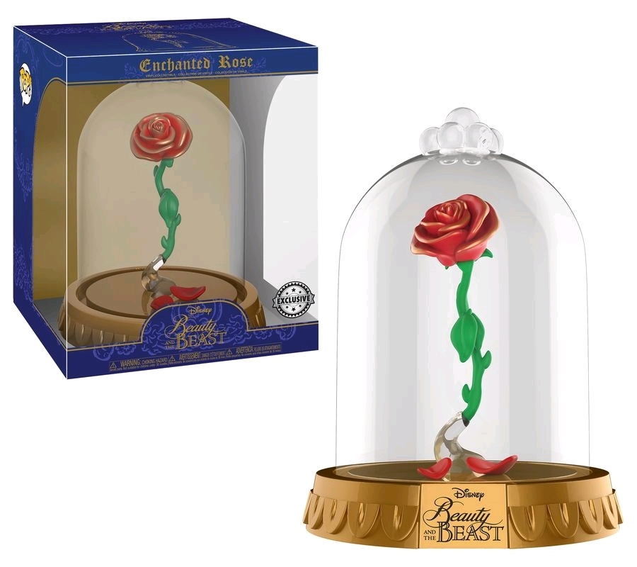 Beauty and the Beast - Enchanted Rose US Exclusive Pop! Dome [RS] | Pop Vinyl