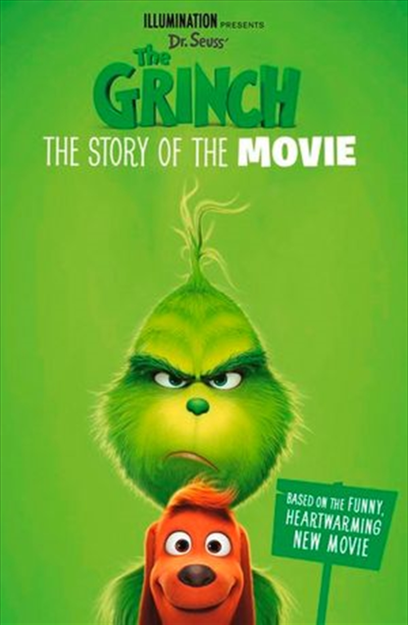 Grinch: The Story Of The Movie | Paperback Book