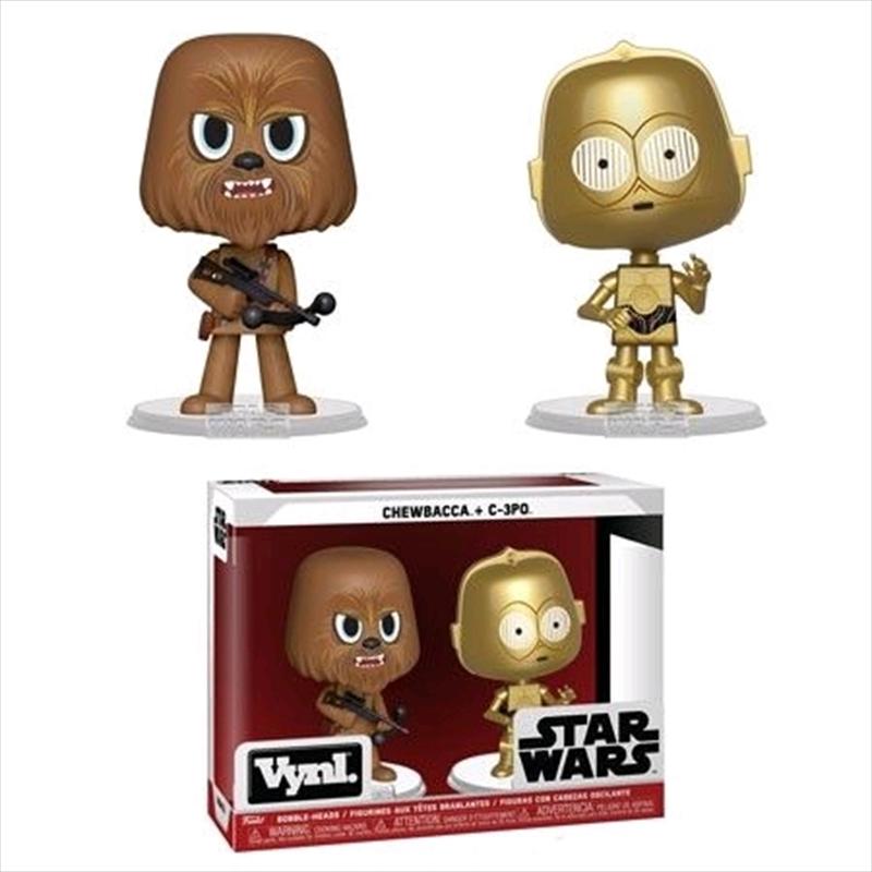 Star Wars - Chewbacca & C-3PO Vynl. | Merchandise