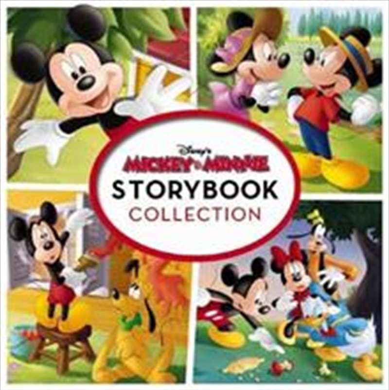 Mickey And Minnie Storybook Collection   Hardback Book