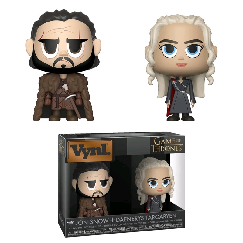 Game of Thrones - Jon Snow & Daenerys Targaryen Vynl. | Pop Vinyl