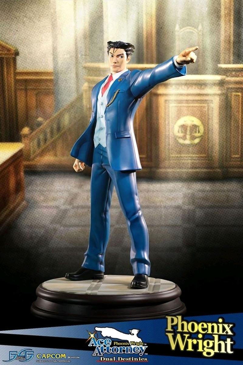 Ace Attorney - Phoenix Wright Statue | Merchandise