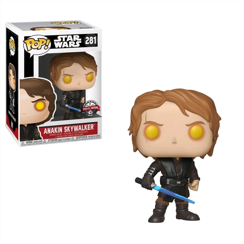 Star Wars - Anakin Skywalker (Dark Side) US Exclusive Pop! Vinyl [RS] | Pop Vinyl