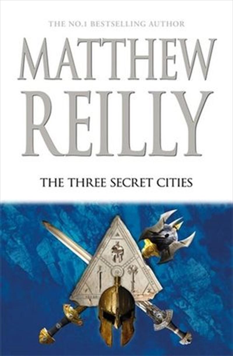 The Three Secret Cities: Jack West Jr Book 5   Hardback Book
