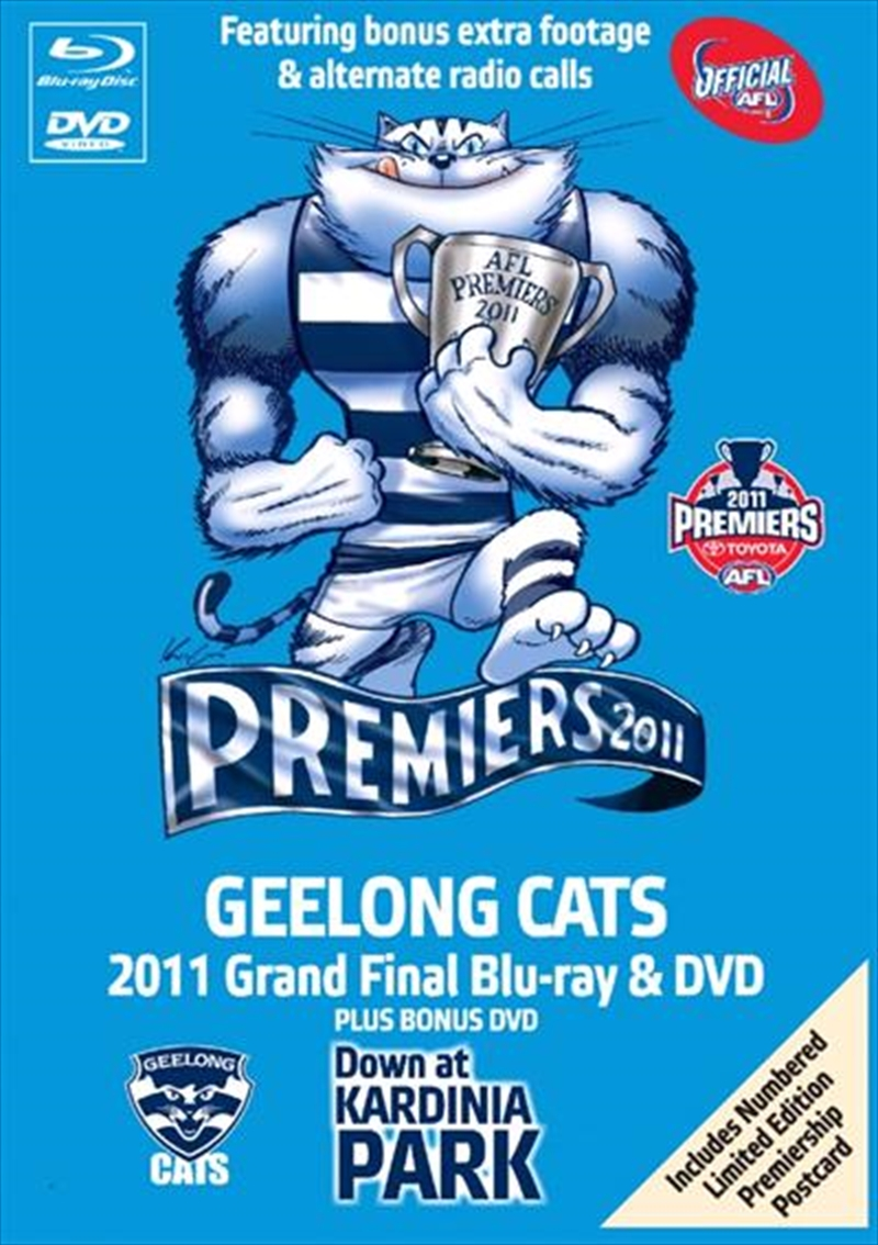 AFL Premiers 2011 - Geelong - Limited Collector's Tin Box | Blu-ray/DVD