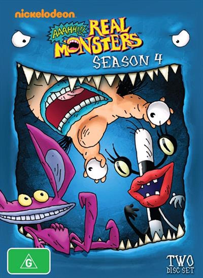 Aaah!!! Real Monsters - Season 4   DVD