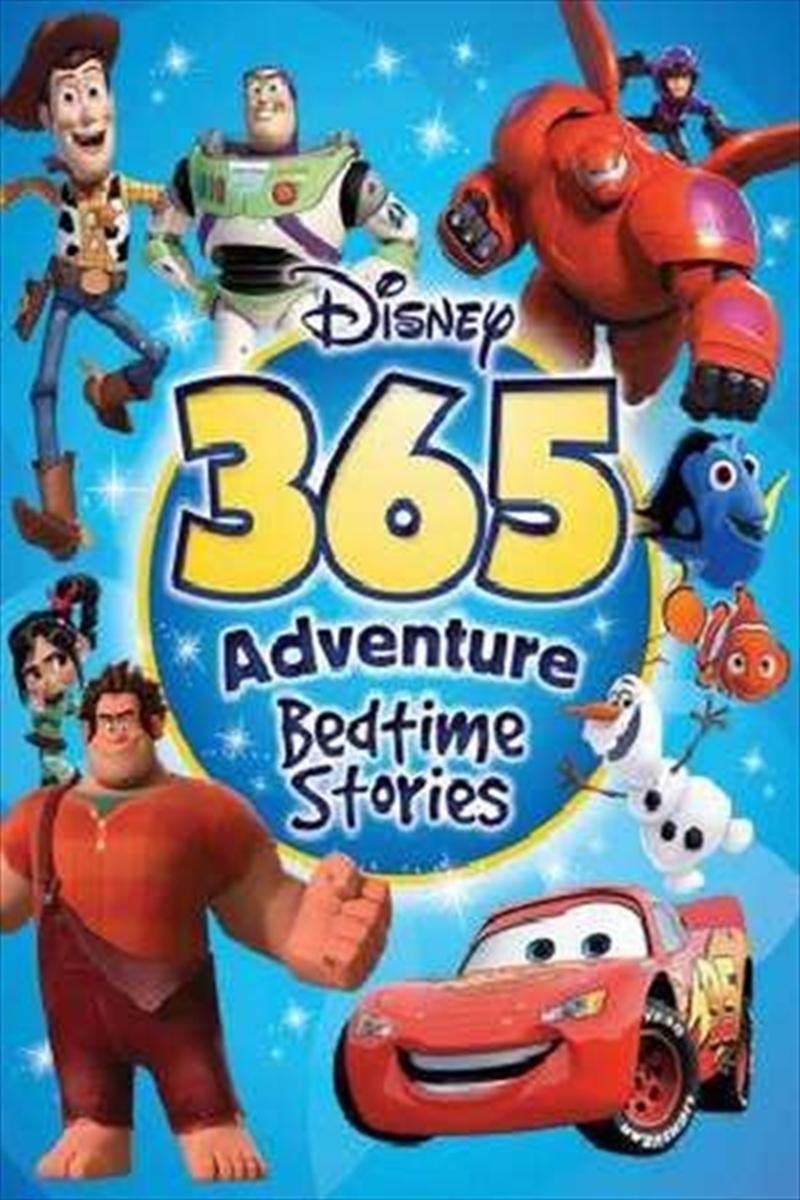 Disney: 365 Adventure Bedtime Stories | Hardback Book