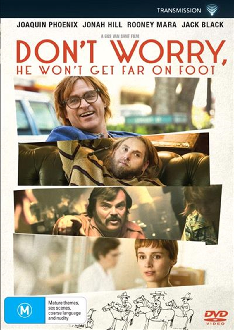 Don't Worry, He Won't Get Far On Foot | DVD