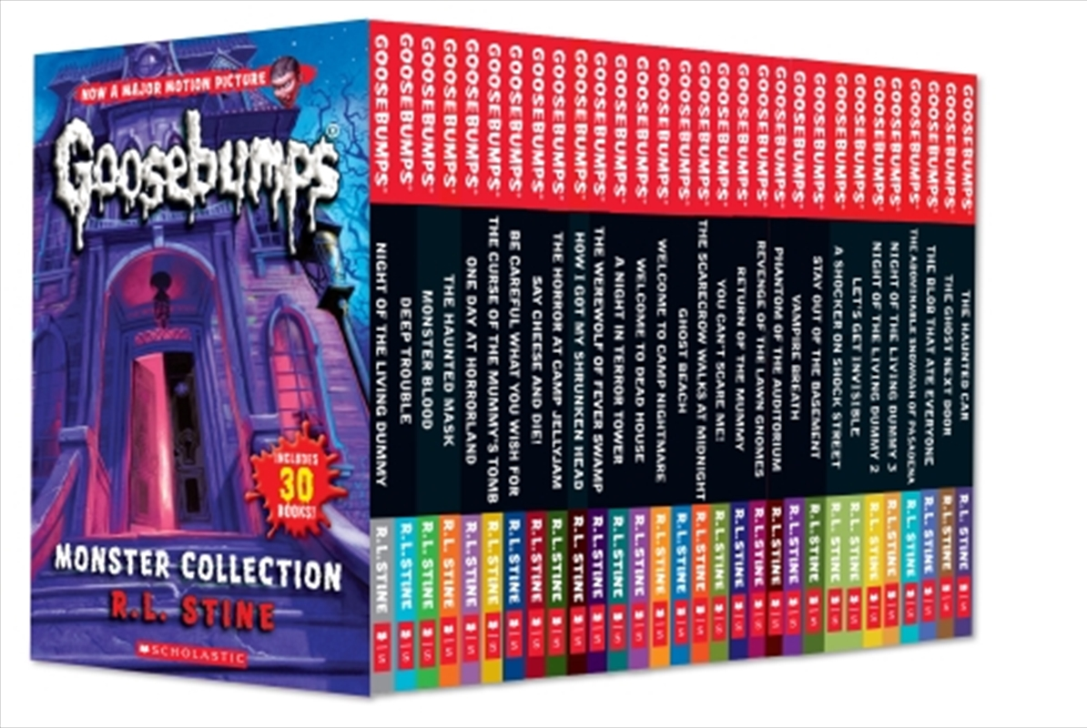 Goosebumps Monster Collection | Paperback Book