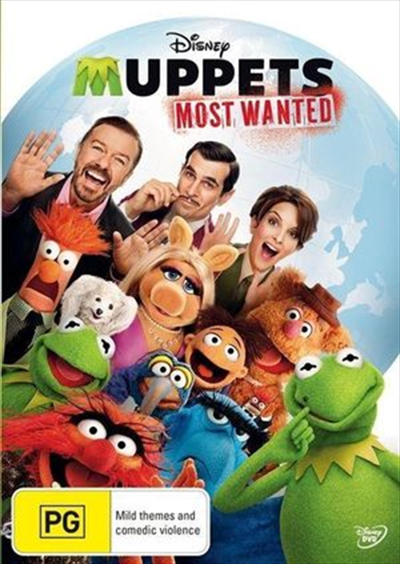Muppets - Most Wanted   DVD