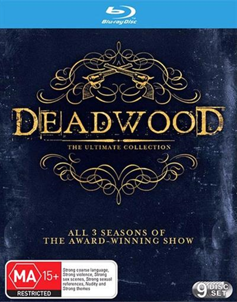 Deadwood - Season 1-3 - Ultimate Collection - Collector's Edition | Blu-ray