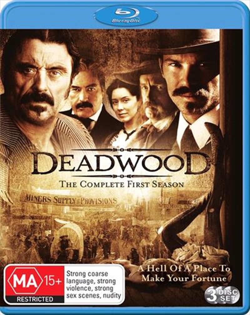 Deadwood - Season 01 | Blu-ray