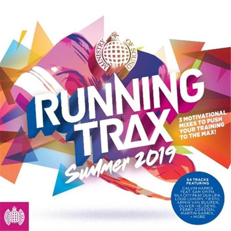 Running Trax Summer 2019 | CD