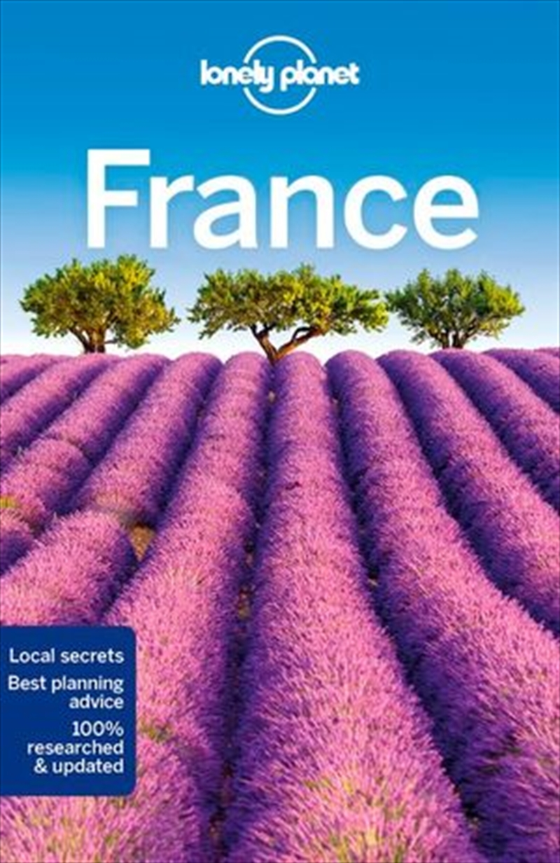 Lonely Planet Travel Guide  13th Edition - France   Paperback Book