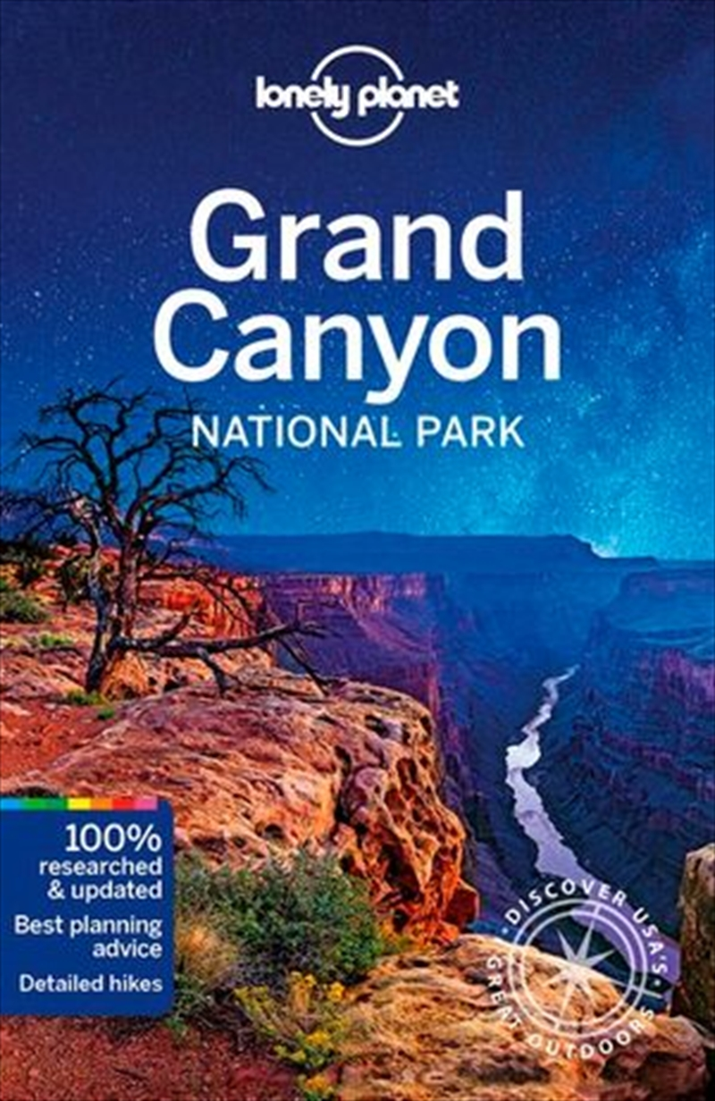 Lonely Planet Travel Guide - Grand Canyon National Park | Paperback Book
