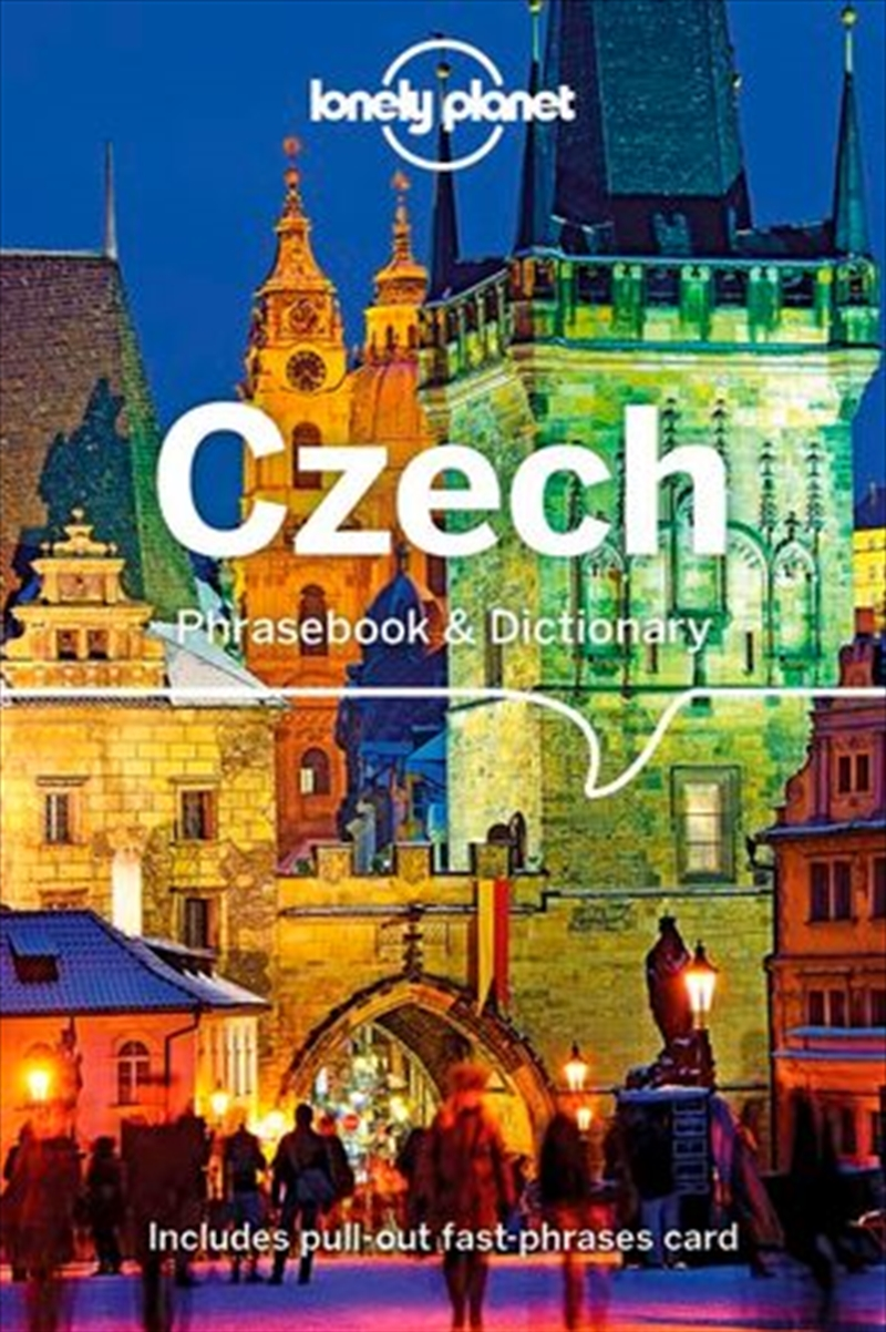 Lonely Planet - 4th Edition Czech Phrasebook And Dictionary | Paperback Book
