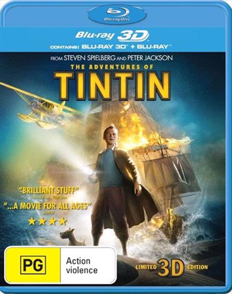 Adventures Of Tintin, The | Blu-ray 3D