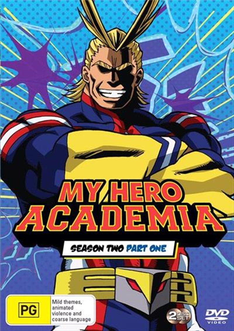My Hero Academia - Season 2 - Part 1   DVD