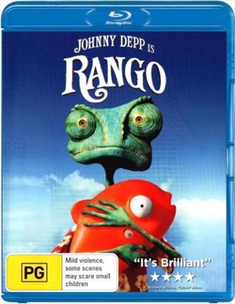 Rango | Blu-ray