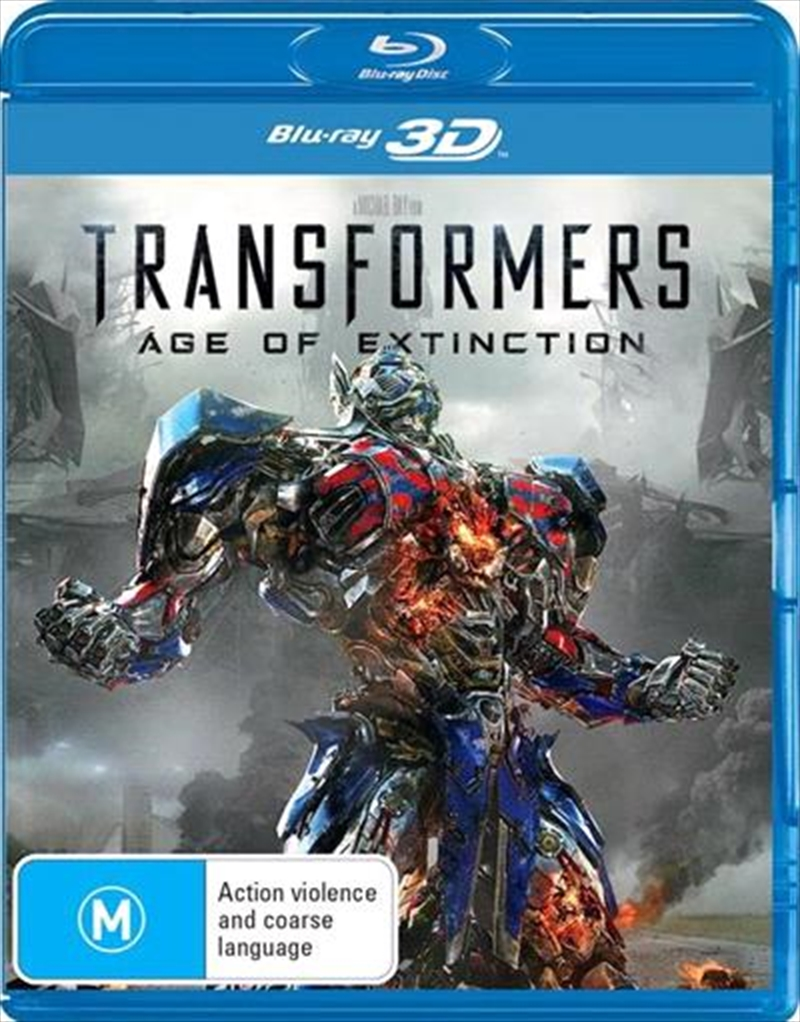 Transformers - Age Of Extinction | Blu-ray 3D