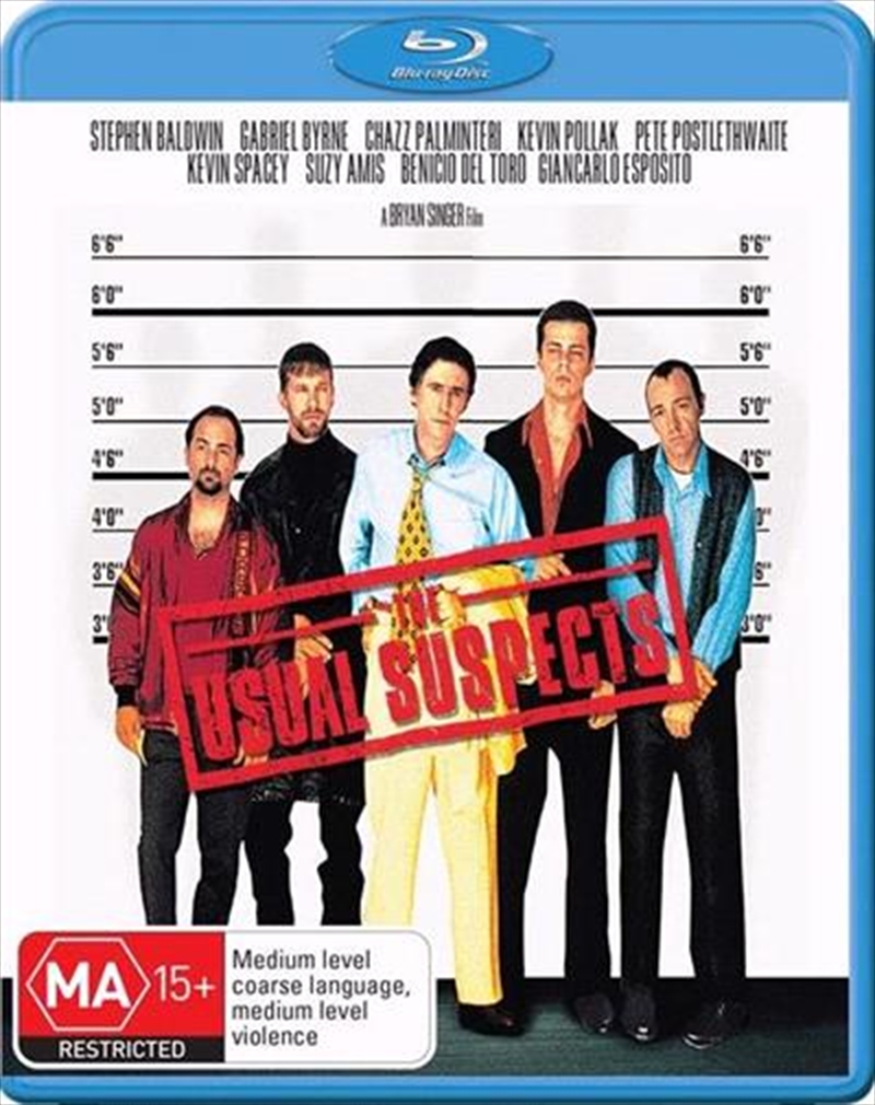 Usual Suspects, The | Blu-ray